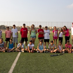 US College Softball Pitcher, Kayla Hurd, in Gozo