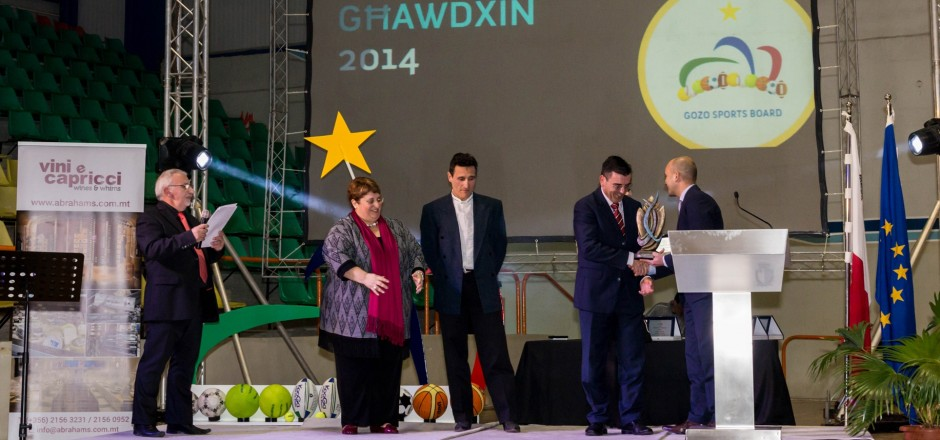 REDCOATS HONOURED AT THE GOZO SPORTS AWARDS
