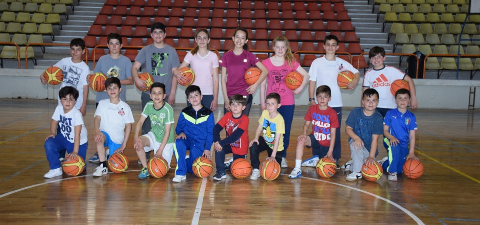 YOUTH BASKETBALL TAKING SHAPE