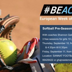 SOFTBALL PRE-SEASON TRAINING CAMP