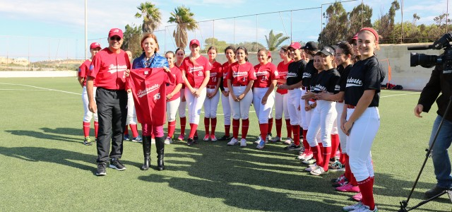 MINISTER FOR GOZO AT THE PRE-GAME CEREMONY