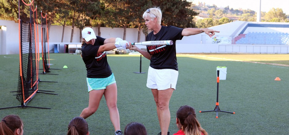 CONNIE MAY & LISA NORRIS FOR A REDCOATS TRAINING CAMP