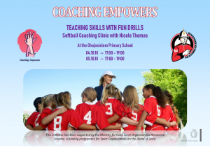 Poster Coaching Empowers - TEACHING SKILLS WITH FUN DRILLS