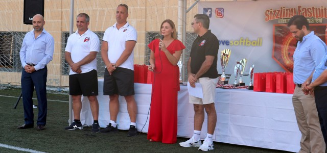 MINISTER CARUANA INAUGURATES SIZZLING FASTPITCH