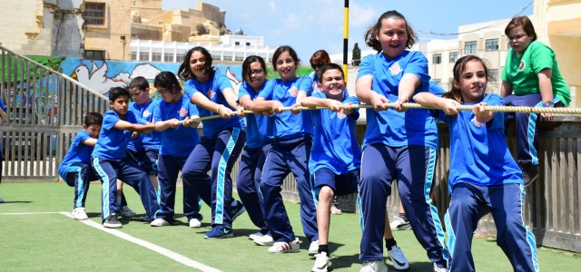 REDCOATS AT THE GOZO COLLEGE SECONDARY SCHOOL