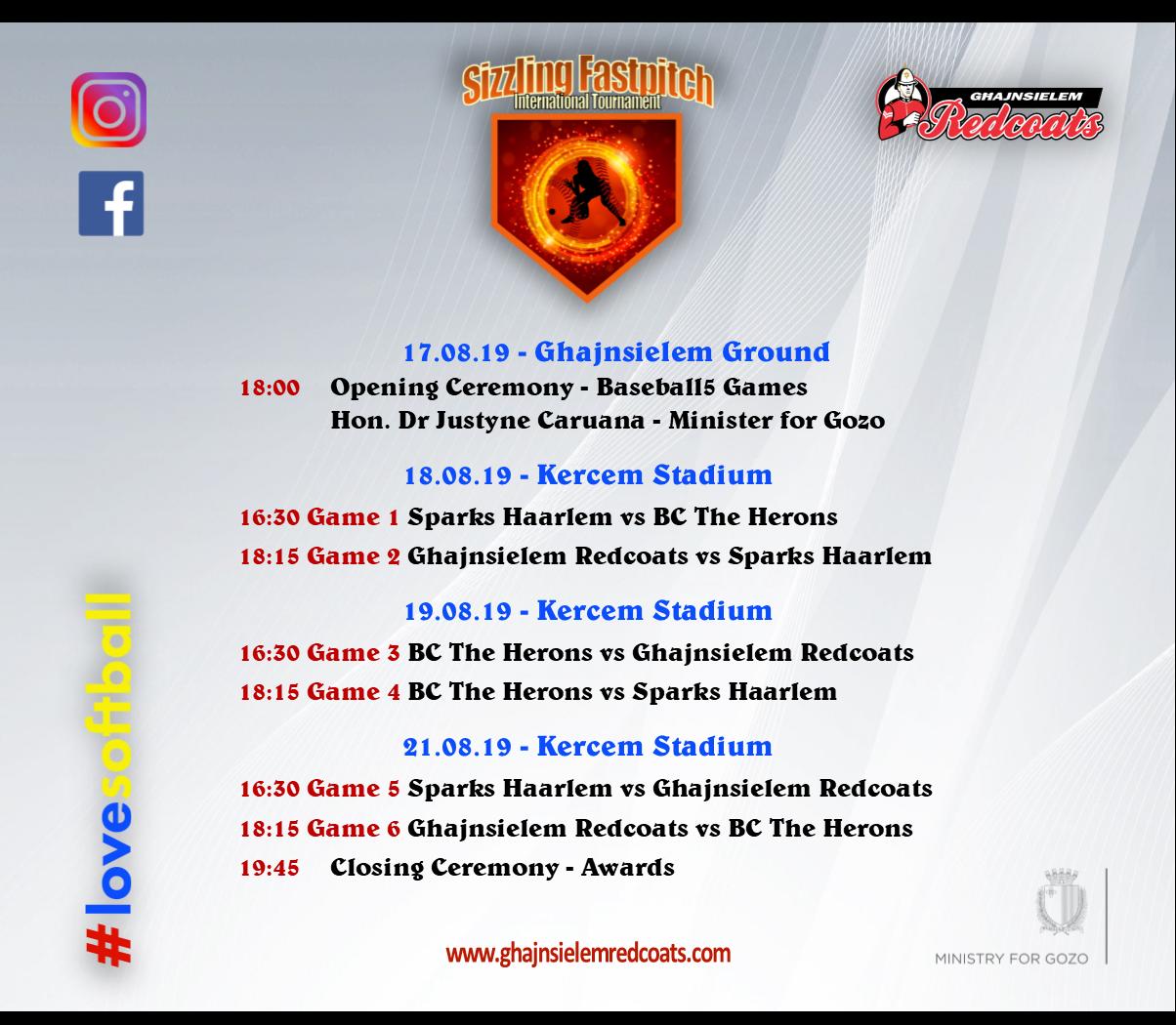 SF Schedule