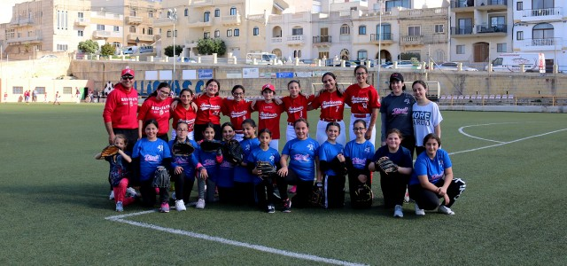 YOUTH SOFTBALL TEAM SHINES IN MELLIEHA